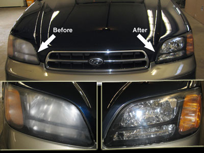 Headlight Restoration - Precision Dent Atlanta GA