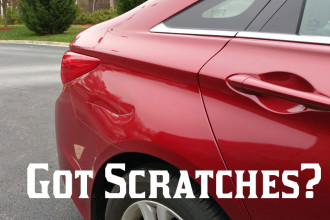 Auto Scratch Repair / Touch-up Service