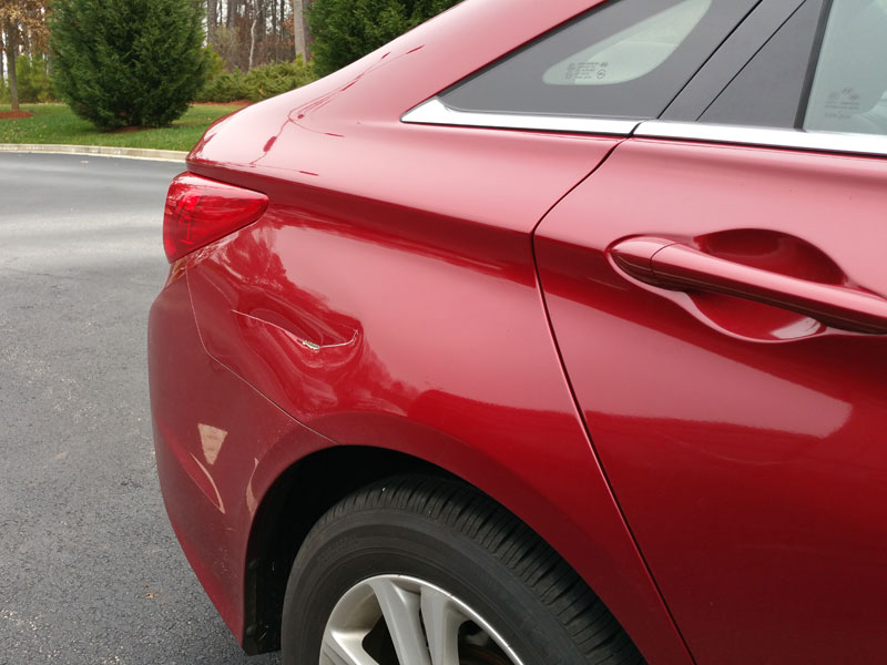 Scratch Repair Paint Touch Up Services Ga Precision